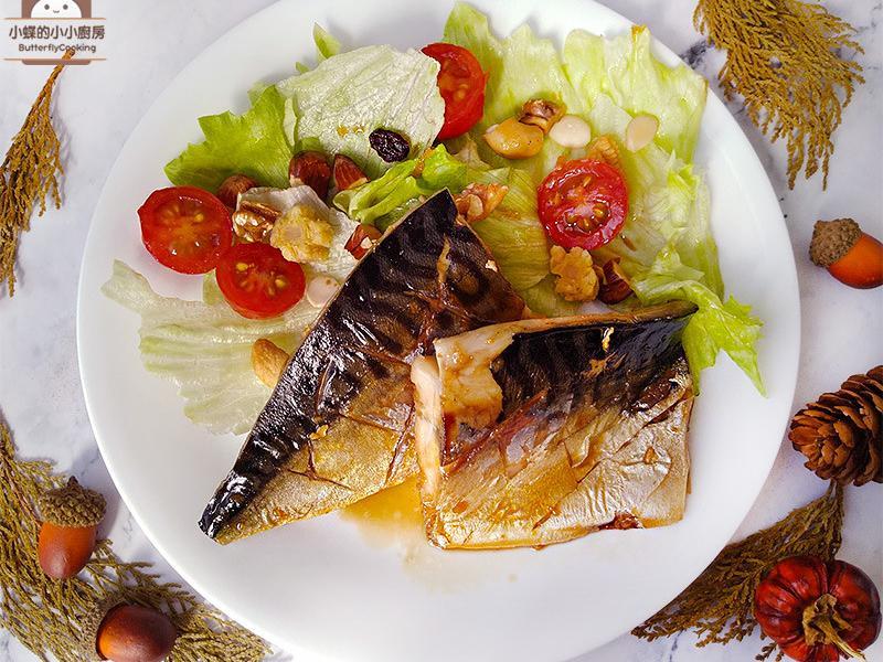 和風照燒鯖魚。不加糖的照燒醬