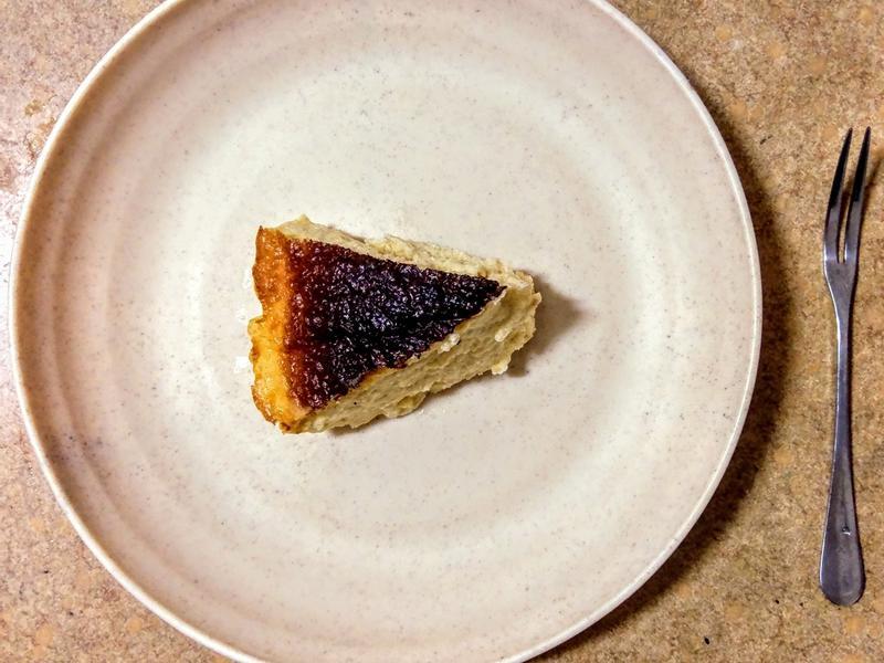 巴斯克起司蛋糕(減糖版)🧀