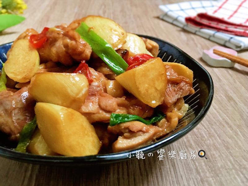 筊白筍燒雞