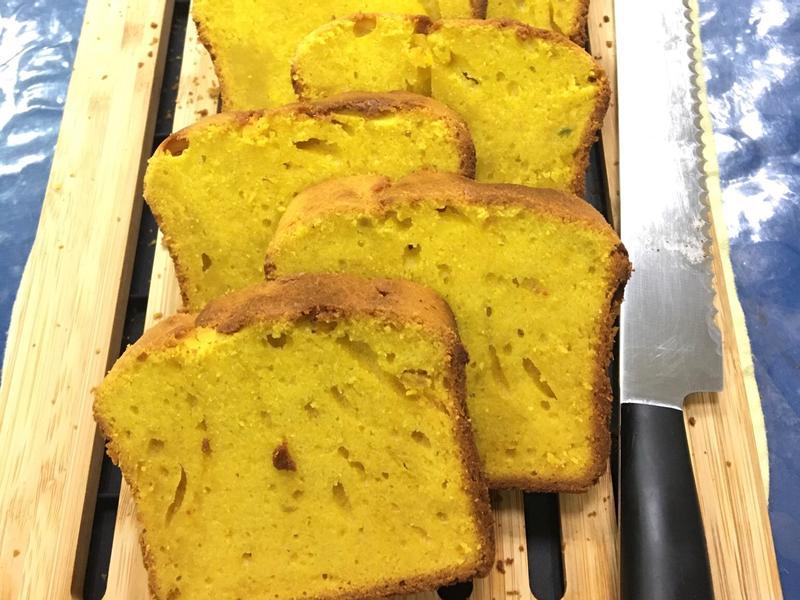 栗子南瓜磅蛋糕 減糖版