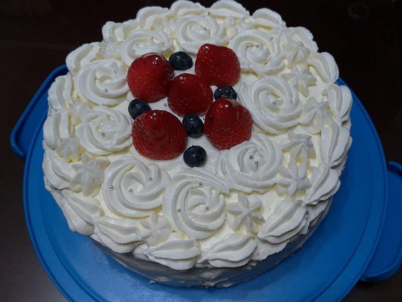 草莓鮮奶油蛋糕