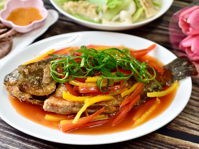 甜椒糖醋魚