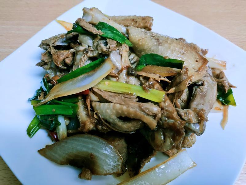 醬炒鴨肉 (拜拜鴨)
