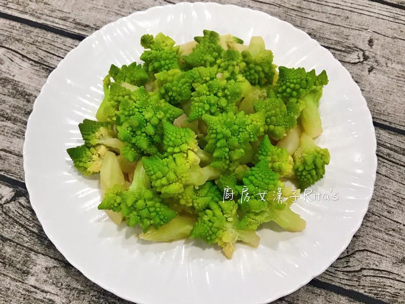 蒜炒羅馬花椰菜