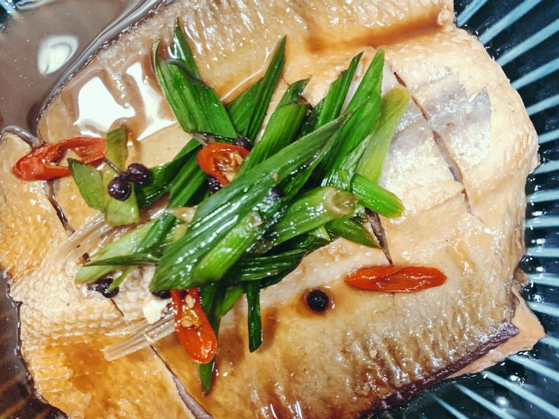 花椒風味醬燒虱目魚肚(減醣料理)
