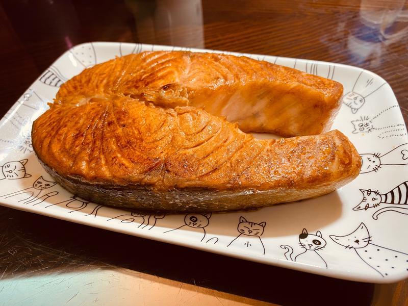 醬油煎鮭魚