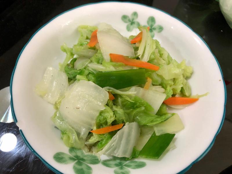 飛利浦萬用鍋-炒大白菜