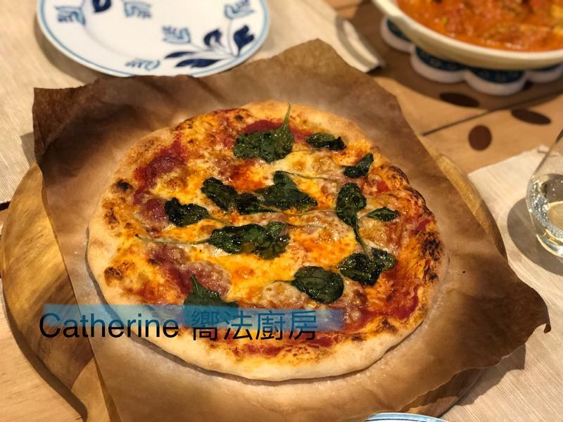 西班牙臘腸pizza