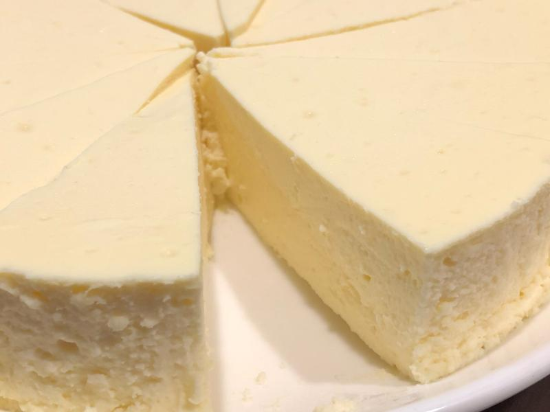 簡易重乳酪蛋糕(無餅乾8吋)