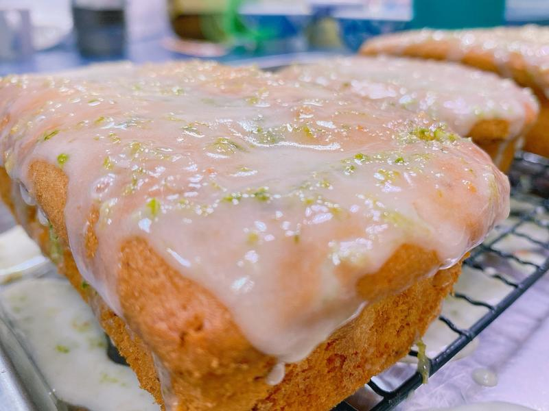 老奶奶檸檬糖霜磅蛋糕  腰瘦好吃😋