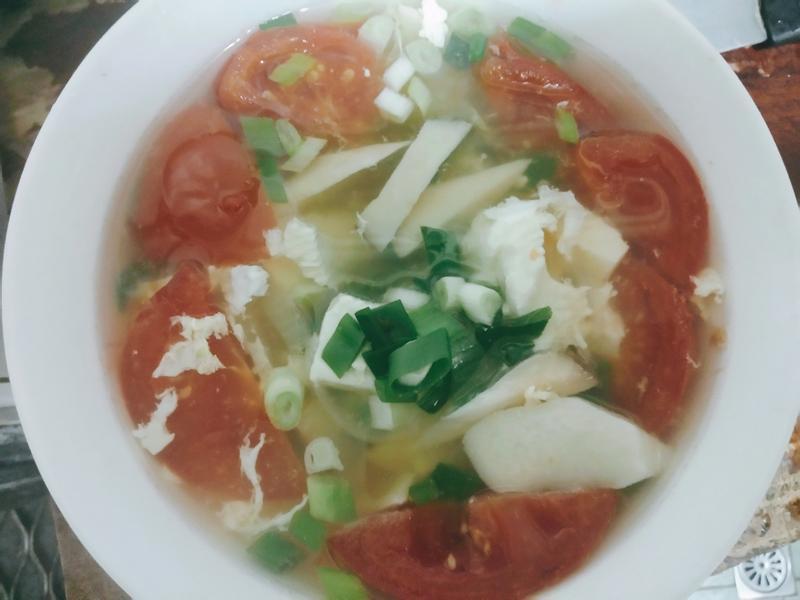 菇菇番茄豆腐煲