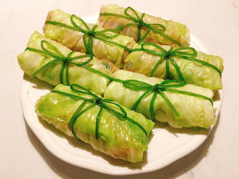 關東煮之高麗菜卷