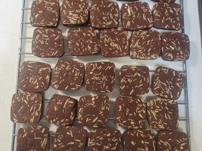 巧克力杏仁餅
