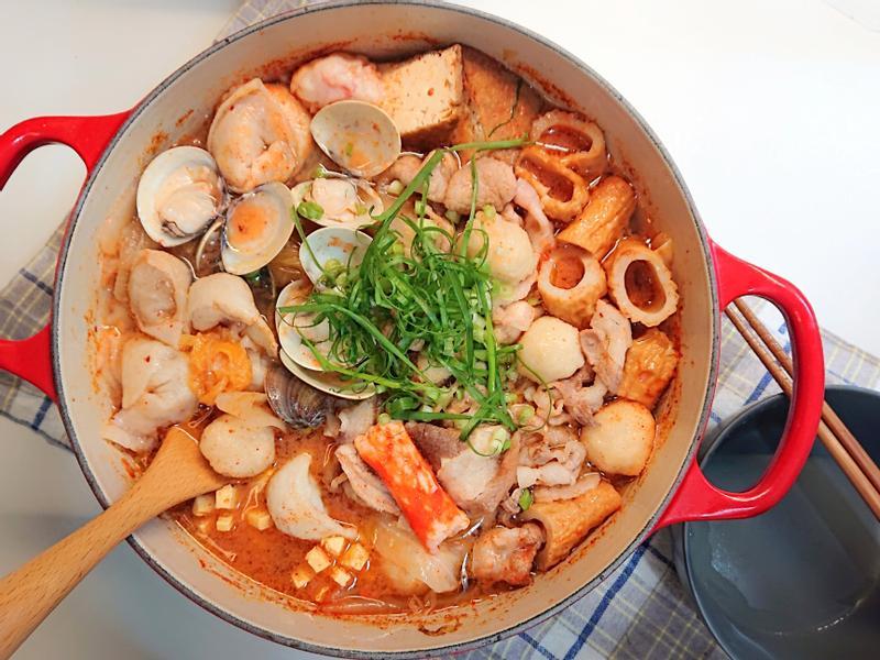 蛤蜊肉多多泡菜鍋
