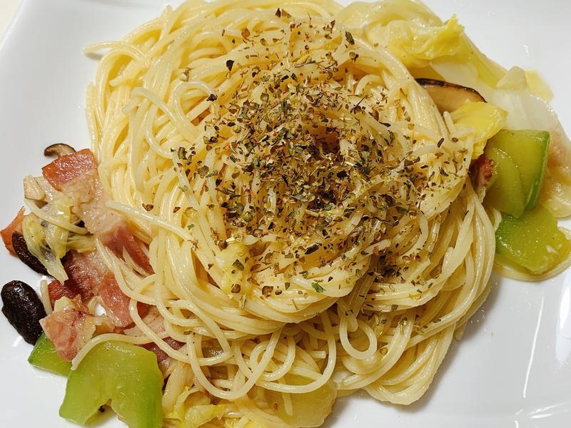 香蒜義大利麵