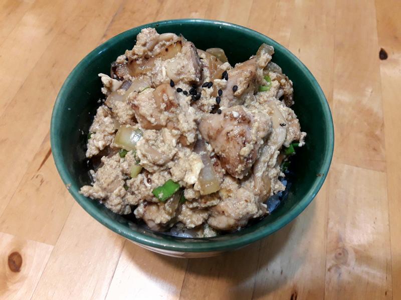 【日本料理】親子丼飯