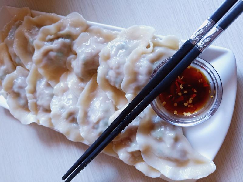 五星級(高麗菜、韭菜、玉米)豬肉水餃
