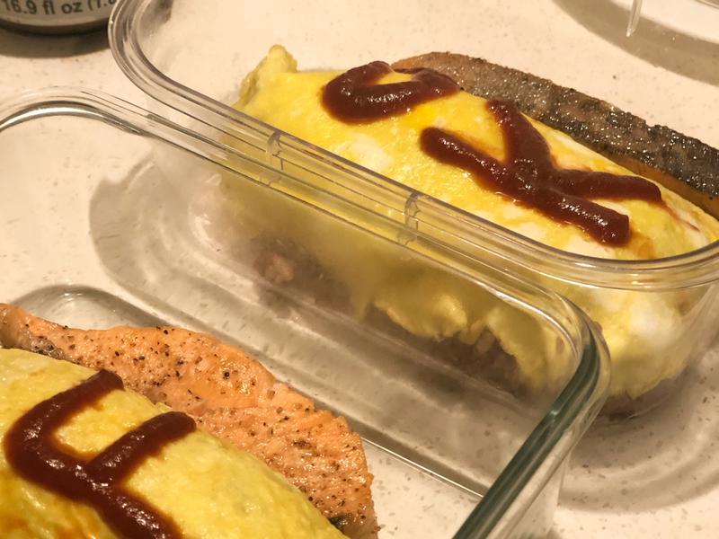 超簡單(〃ω〃)蛋包飯