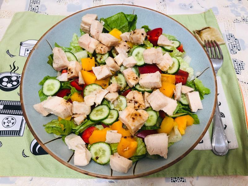 雞肉沙拉-5分鐘上菜