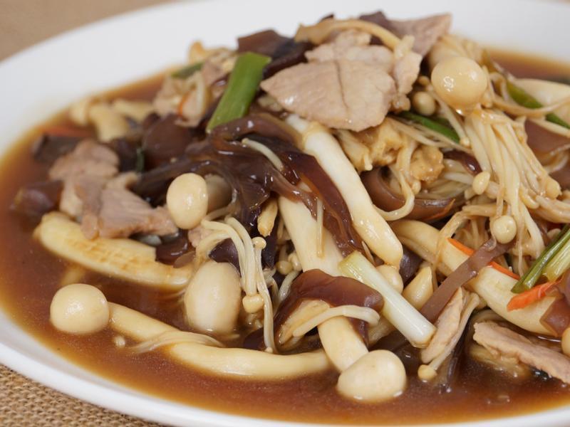 【哇菜影音食譜】雙菇炒肉片