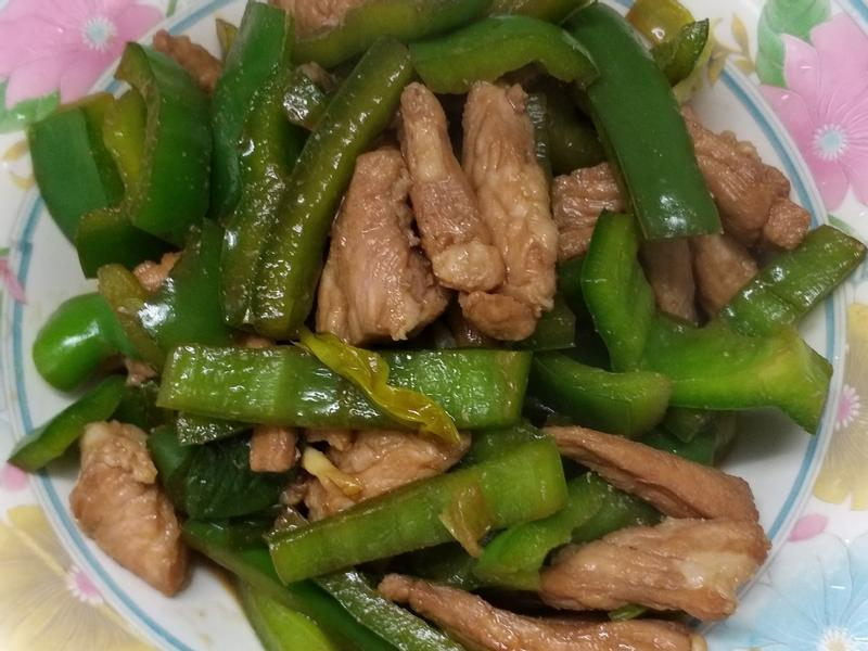 青椒炒肉條