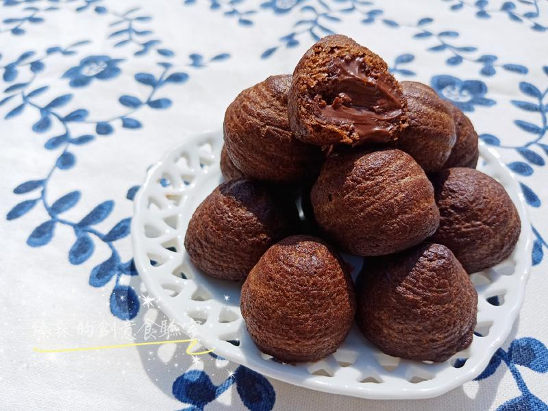 巧克力小泡芙餅乾