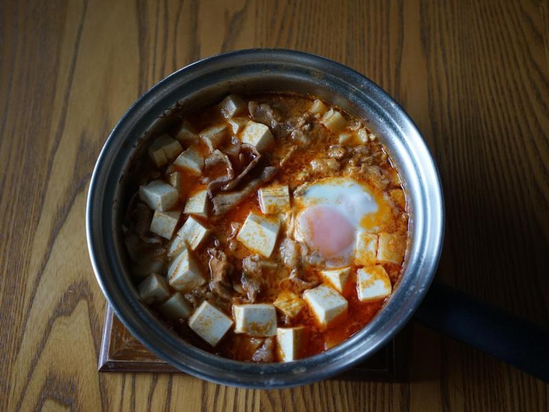 韓式辣豆腐豬肉鍋