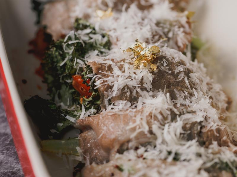 低醣料理 <豬肉> 義式豬肉蔬菜捲