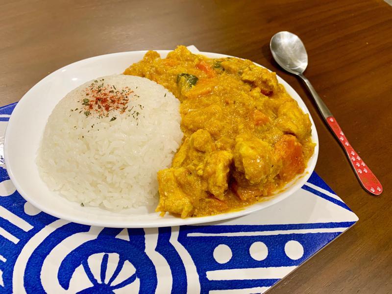 咖哩粉版本-印度鮮奶南瓜咖喱雞
