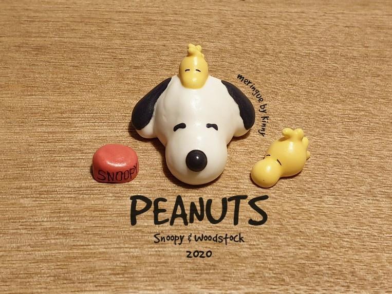 造型馬林糖meringue/Snoopy