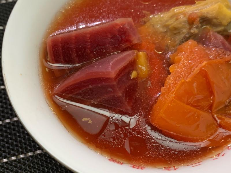 甜菜根四種吃法(湯、蒸、烤、果汁)