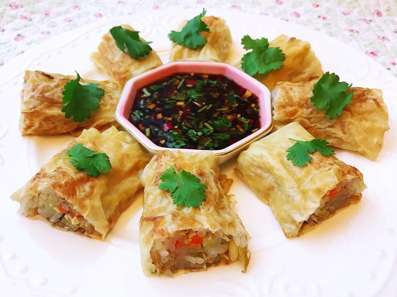 腐皮銀芽卷/豆魚/涼菜(簡易/低糖/蔬食