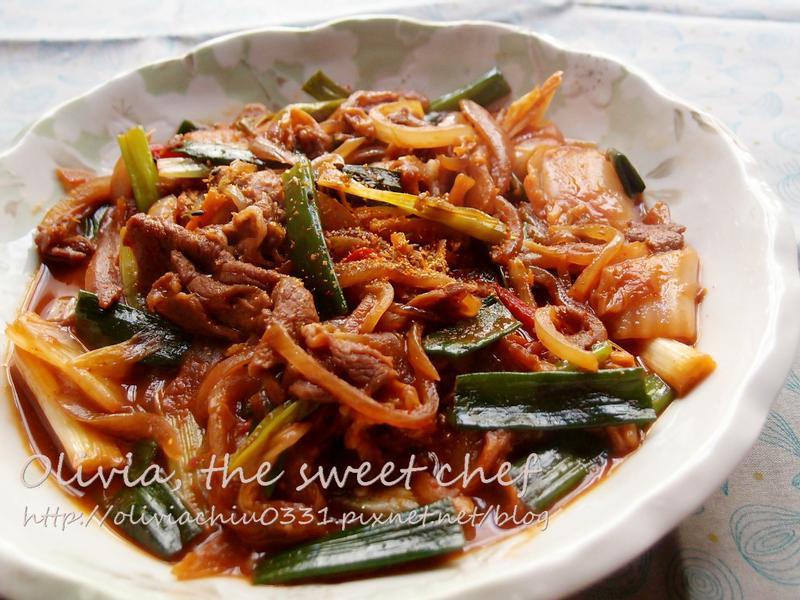 Olivia♥韓式泡菜豬肉