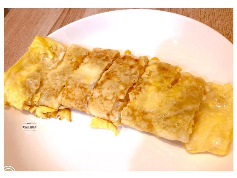 玉米蛋餅型玉子燒