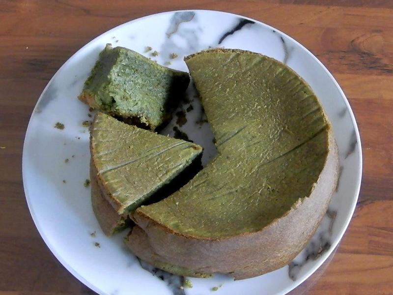 抹茶白巧克力蛋糕