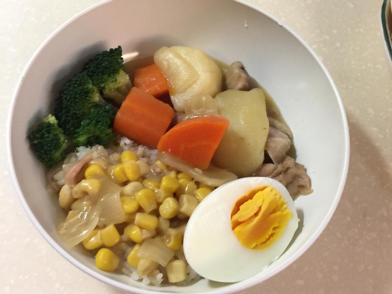 奶油白醬料理塊-燉雞肉蔬菜