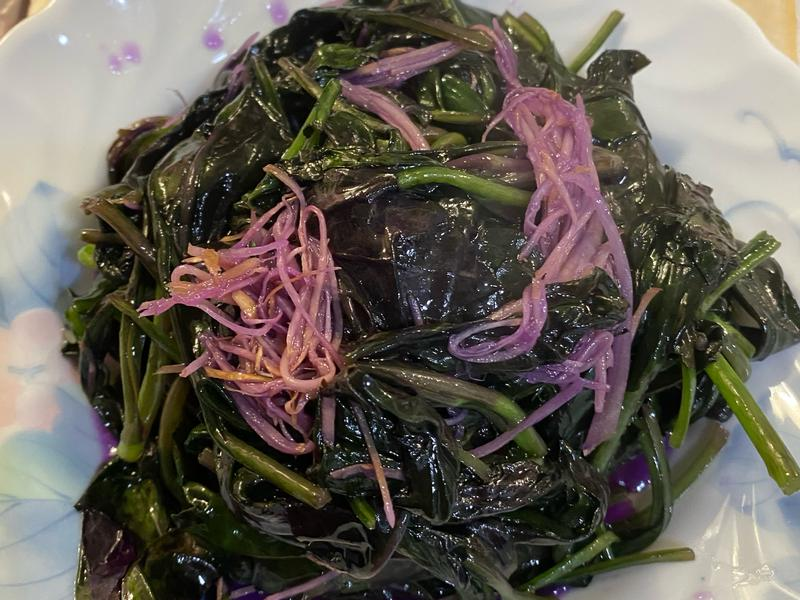 薑絲炒紅菜