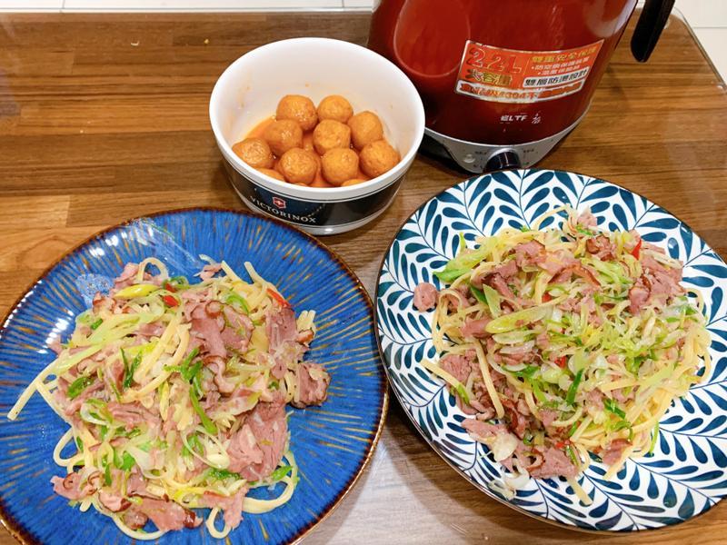 蒜香鴨賞義大利麵