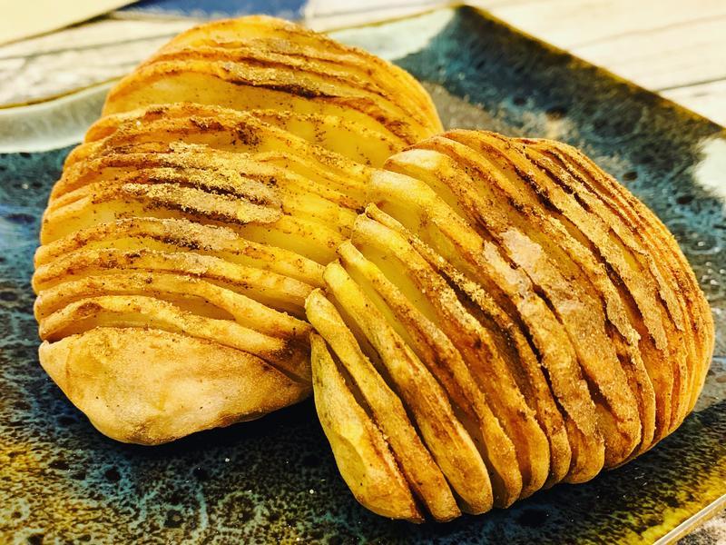 [米菈的食譜]氣炸椒鹽馬鈴薯
