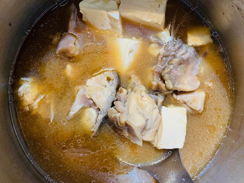 ⭐️最愛的媽媽味⭐️味增魚豆腐湯