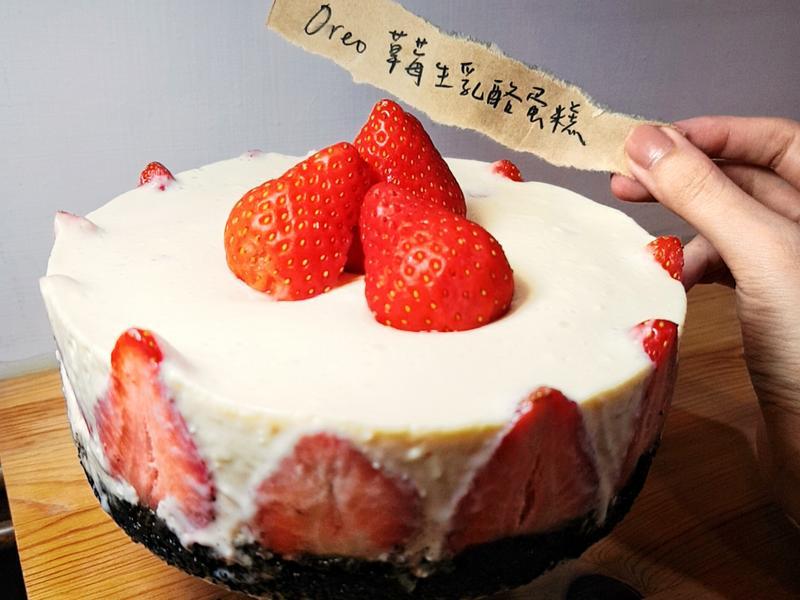 OREO草莓生乳酪蛋糕(六吋)