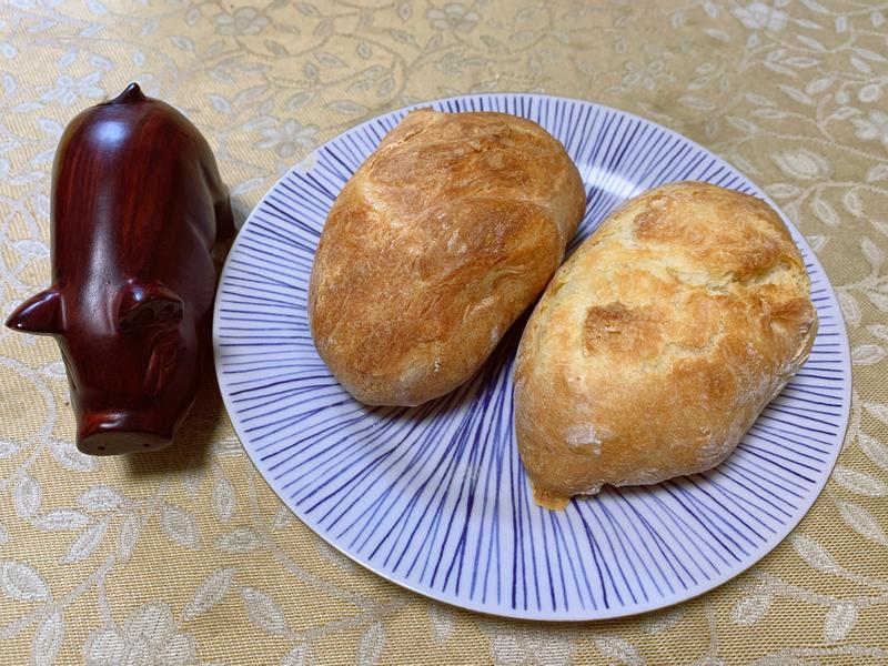免揉鄉村麵包