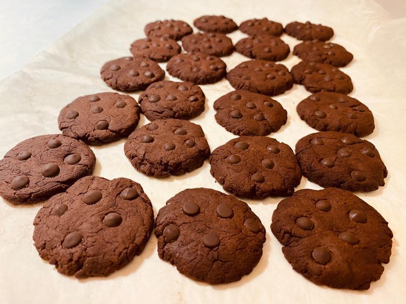 雙倍巧克力餅乾