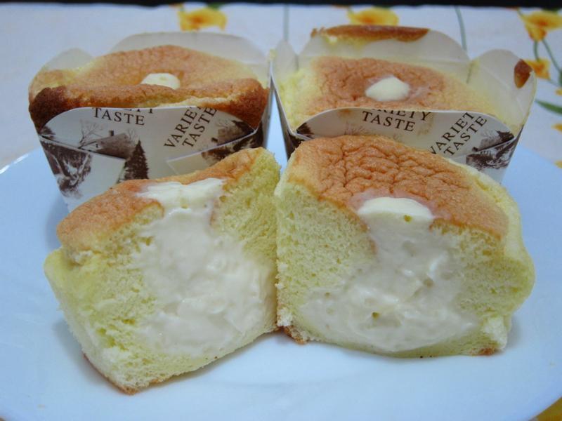 牛奶戚風杯子蛋糕