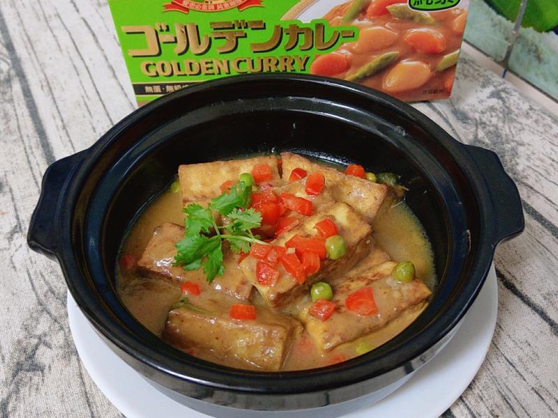咖哩椰香豆腐(純素)