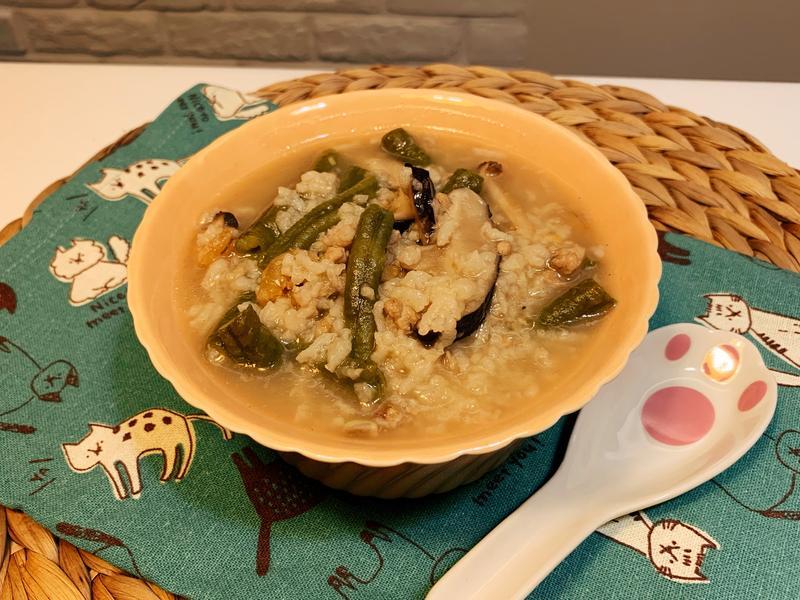 菜豆稀飯(菜豆粥)
