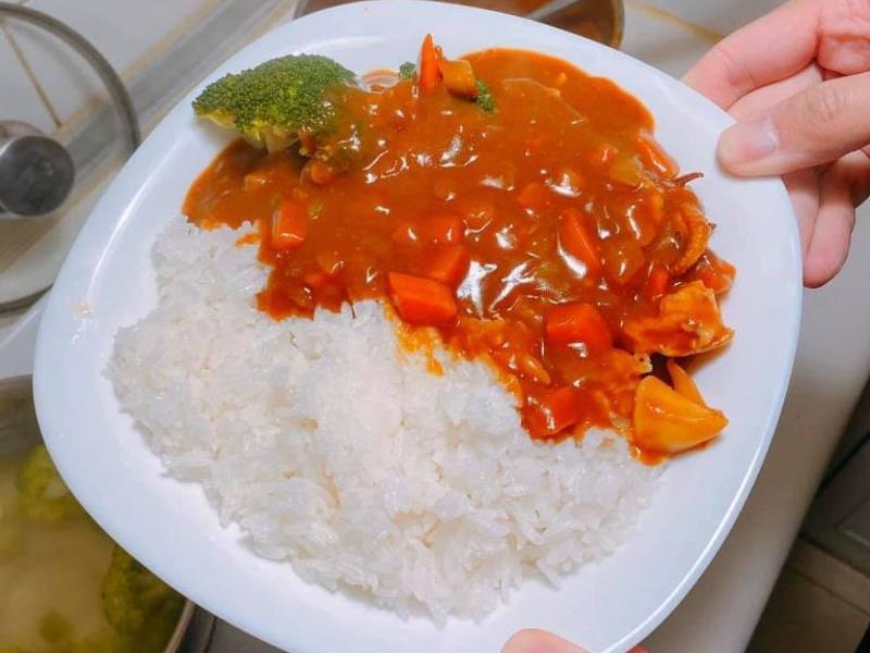 咖哩飯(海鮮風味濃厚版)
