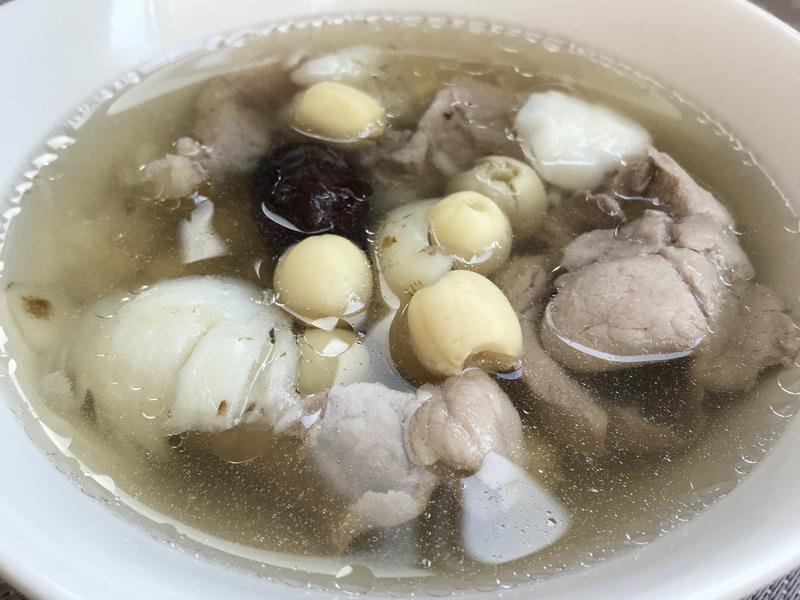百合蓮子排骨湯