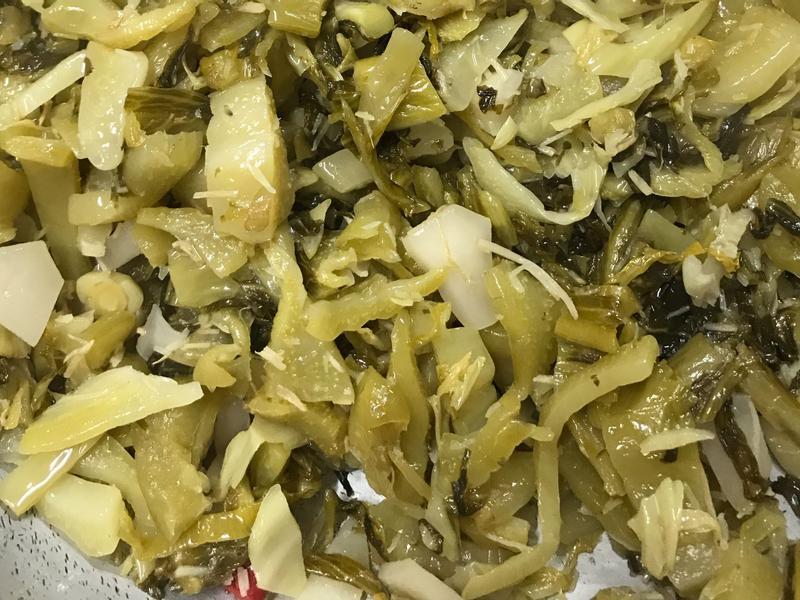 辣炒酸菜(全素)