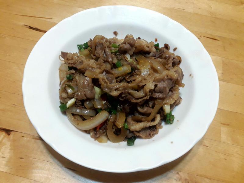 【臺菜】蔥燒牛肉